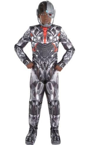 Boys Cyborg Muscle Costume Premier - Justice League Part 1
