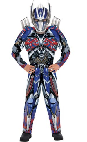 Boys Optimus Prime Muscle Costume - Transformers 5: The Last Knight