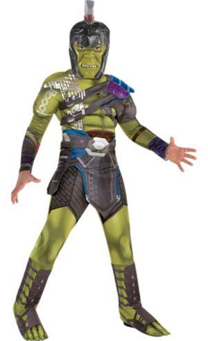 Boys Hulk Muscle Costume - Thor: Ragnarok