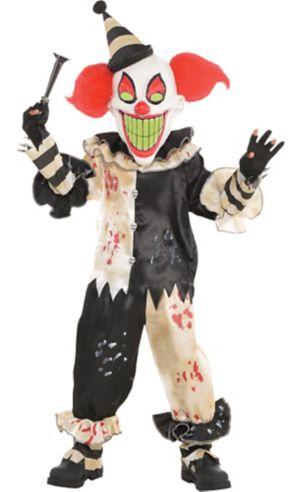 Little Boys Carnival Nightmare Clown Costume