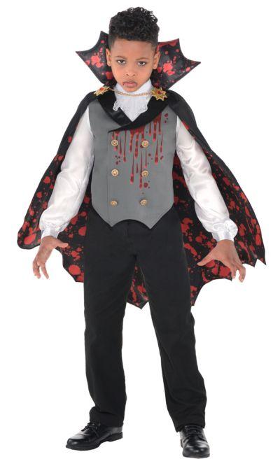 Boys Light Up Bloody Vampire Costume Party City
