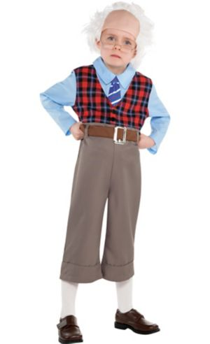 Little Boys Old Geezer Costume