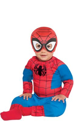 sc 1 st  Party City & Baby Spiderman Costume   Party City