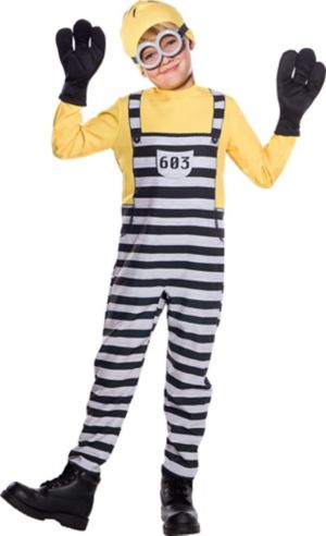 Boys Jail Tom Costume - Despicable Me 3