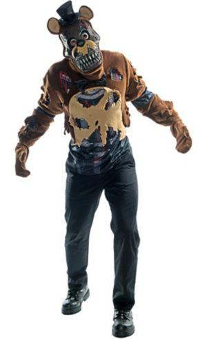 Adult Nightmare Freddy Fazbear Costume - Five Nights at Freddy's 4