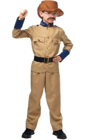 Child Teddy Roosevelt Costume Accessory Kit
