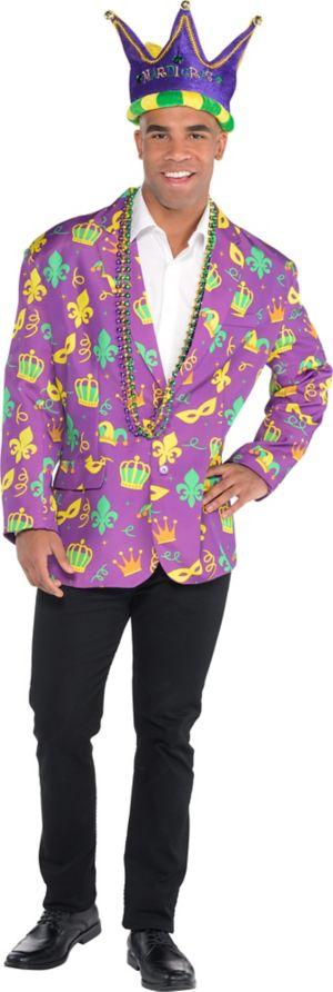 Adult Mardi Gras Jacket Costume