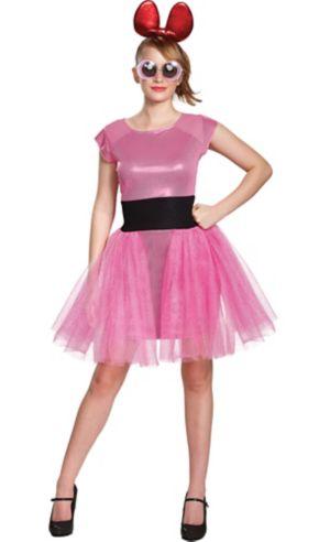 Adult Blossom Costume - Powerpuff Girls