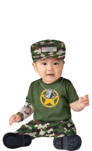 Baby Sergeant Duty Army Costume