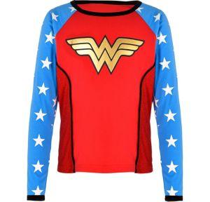 Child Wonder Woman Long-Sleeve Shirt