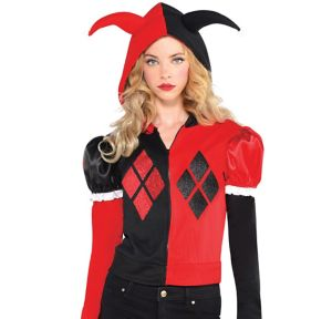 Adult Harley Quinn Hoodie - Batman