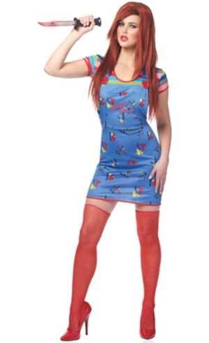Adult Sexy Chucky Doll Costume