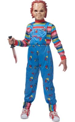 Boys Chucky Costume  sc 1 st  Party City & Horror Movie Costume Accessories | Party City