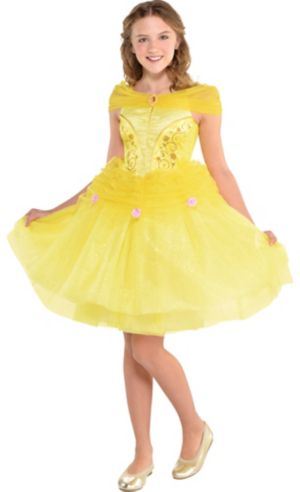 Girls Belle Costume - Beauty and the Beast
