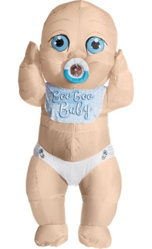 Adult Inflatable Boo Boo Giant Baby Costume