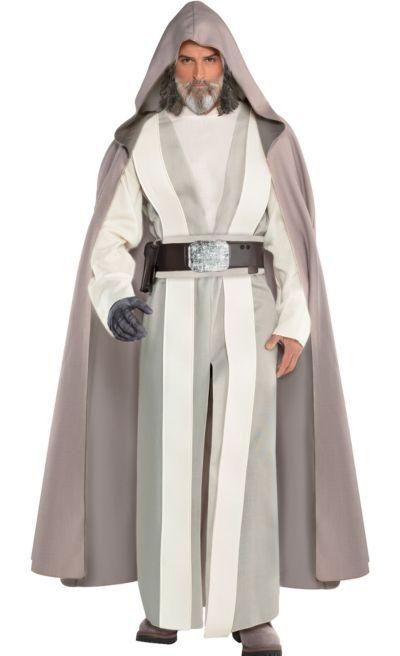 Adult Luke Skywalker Costume Star Wars 8 The Last Jedi