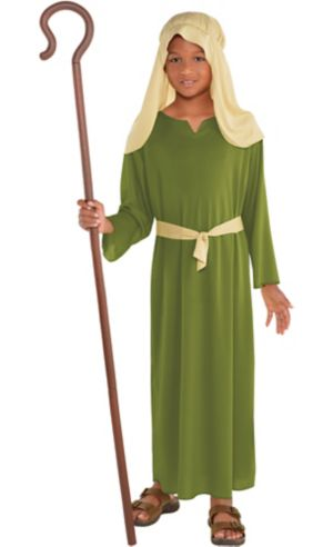 Boys Green Shepherd Costume
