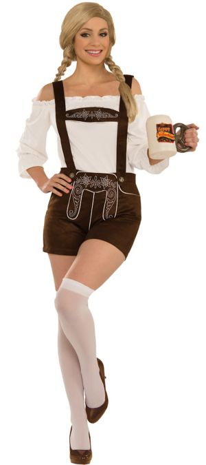 Adult Lederhosen Costume Accessory Kit