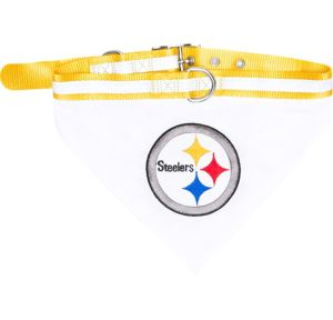 Pittsburgh Steelers Bandana Dog Collar