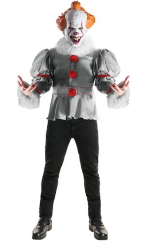 Adult Gray Pennywise Costume - It