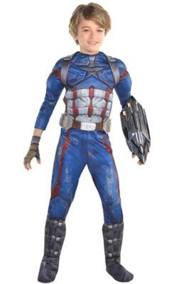 sc 1 st  Party City & Boys Captain America Costume - Avengers Infinity War | Party City