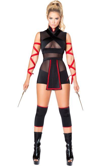 9b3b95b6ef6 Womens Sexy Ninja Costume