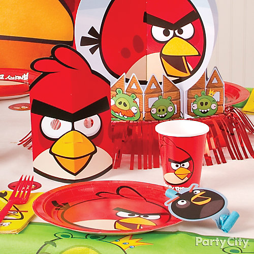 Angry Birds Place Setting Idea
