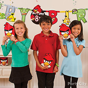 Angry Birds Dress Up Gear Idea
