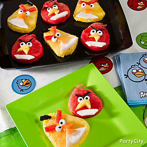 Angry Birds Fruit Idea