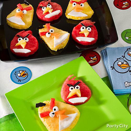Angry Birds Fruit Idea