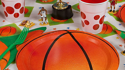 Basketball Place Setting Idea