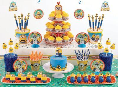 Despicable Me Sweets Treats Despicable Me Party Ideas Boys