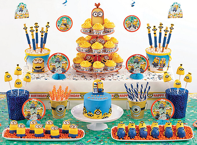 Despicable Me Sweets Amp Treats Despicable Me Party Ideas