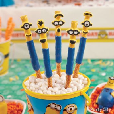 Despicable Me Pretzel Pops How To