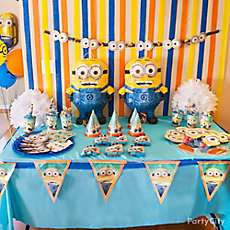 Despicable Me Favor Table Idea
