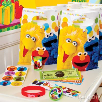Elmo Favor Pack for 8 Idea