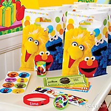 Elmo Favor Pack for 8 Idea