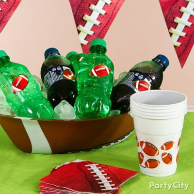 Football Drink Bowl Idea