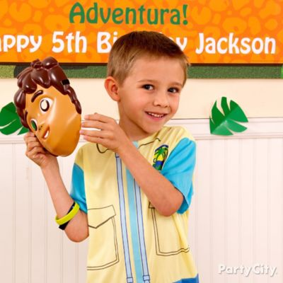 Go Diego, Go! Birthday Costume Idea