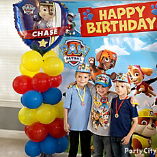 PAW Patrol Balloon Column DIY