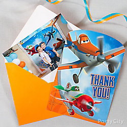 Planes Thank You Note Idea