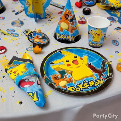 Pokemon Place Setting Idea