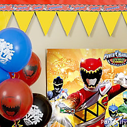 Power Rangers Teeth Garland DIY