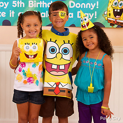 SpongeBob Birthday Costume Idea