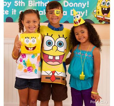 SpongeBob Birthday Costume Idea