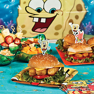 SpongeBob Fish Burgers Idea