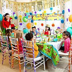 Scooby-Doo Party Table Idea