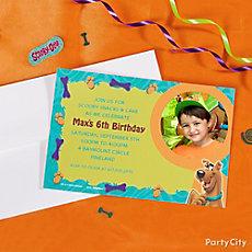 Scooby-Doo Custom Invite Idea