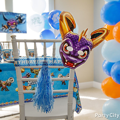 Skylanders Chair Deco DIY