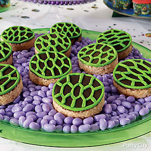 TMNT Shell Crispy Rice Treats How To